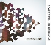 awesome geometric background... | Shutterstock .eps vector #468385973