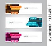 vector design banner... | Shutterstock .eps vector #468415547