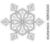 Zentangle Stylized Winter...
