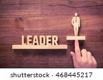 successful team leader  manager ... | Shutterstock . vector #468445217