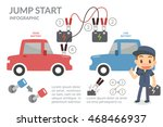 jump start. | Shutterstock .eps vector #468466937