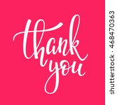 thank you friendship family... | Shutterstock .eps vector #468470363