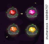magic colorful square gem stone....
