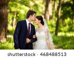 wedding. wedding day. beautiful ... | Shutterstock . vector #468488513
