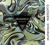vector marble texture. mix of ... | Shutterstock .eps vector #468502973