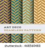art deco seamless pattern with... | Shutterstock .eps vector #468560483