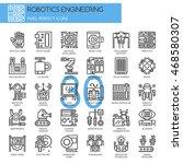 robotics engineering   thin... | Shutterstock .eps vector #468580307