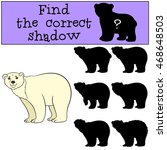 educational game  find the... | Shutterstock .eps vector #468648503