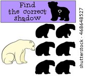 educational game  find the... | Shutterstock .eps vector #468648527