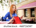 Young Stylish Fashion Woman In...