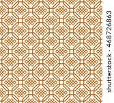 Seamless Pattern Of Symbol Of...