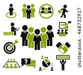teamwork  meeting  seminar icon ... | Shutterstock .eps vector #468732917