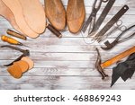 Set Of Tools For Shoemaker On...