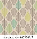 vector seamless background with ... | Shutterstock .eps vector #468908117