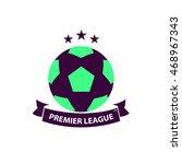 premier league soccer football... | Shutterstock .eps vector #468967343