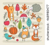 hand drawing elements for... | Shutterstock .eps vector #468980477