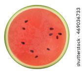 realistic vector juicy ripe... | Shutterstock .eps vector #469036733