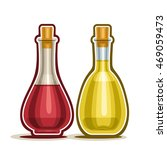 vector logo decanter with red... | Shutterstock .eps vector #469059473