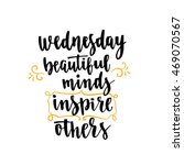 week days motivation quotes.... | Shutterstock .eps vector #469070567