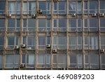facade of old office building...   Shutterstock . vector #469089203