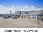 burgas   july 26  parking and... | Shutterstock . vector #469096307