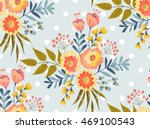 vector seamless pattern with... | Shutterstock .eps vector #469100543