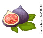 Figs Fruits Vector Juicy...