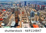 skyscrapers in a big city. city ... | Shutterstock . vector #469114847