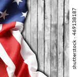 closeup of american flag on... | Shutterstock . vector #469138187