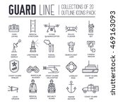 coast guard day illustration... | Shutterstock .eps vector #469163093