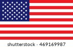 usa flag | Shutterstock .eps vector #469169987
