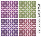 geometric ornament. colored... | Shutterstock .eps vector #469172567