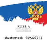 flag of russia. russian flag.... | Shutterstock .eps vector #469303343