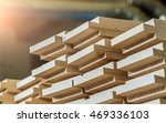 wood timber construction... | Shutterstock . vector #469336103