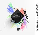 abstract template with... | Shutterstock .eps vector #469368023