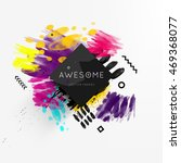 abstract template with... | Shutterstock .eps vector #469368077