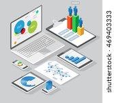 set of infographics design... | Shutterstock .eps vector #469403333