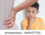 mother scolding a naughty child ...   Shutterstock . vector #469427753