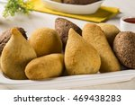 mixed brazilian snack. | Shutterstock . vector #469438283