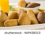 mixed brazilian snack. | Shutterstock . vector #469438313