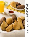 mixed brazilian snack. | Shutterstock . vector #469438367