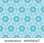abstract flowers. blue.... | Shutterstock .eps vector #469458167