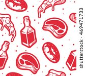 patterns of food   Shutterstock .eps vector #469471733