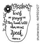 Tears Are Prayers Too. Hand...
