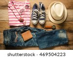 clothing and accessories for... | Shutterstock . vector #469504223