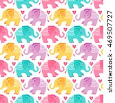 template seamless pattern with... | Shutterstock .eps vector #469507727