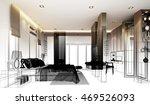 abstract sketch design of... | Shutterstock . vector #469526093