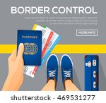 border control banners. view... | Shutterstock .eps vector #469531277