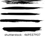 hand drawn paint grunge brush... | Shutterstock .eps vector #469537937