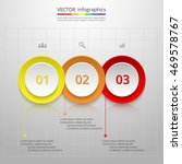 infographics step by step.... | Shutterstock .eps vector #469578767